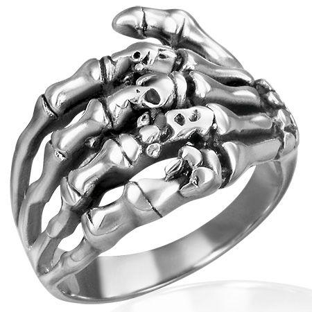 Перстень из ювелирной стали
