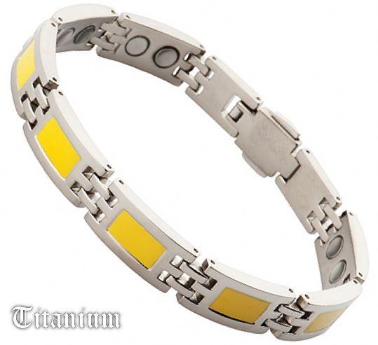 Титановый магнитный браслет 1002-01933NT