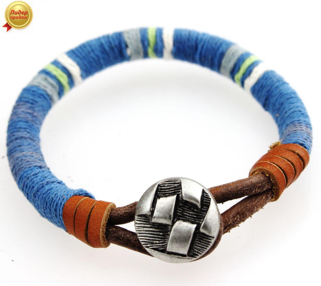 Кожаный браслет 334NT-Shir