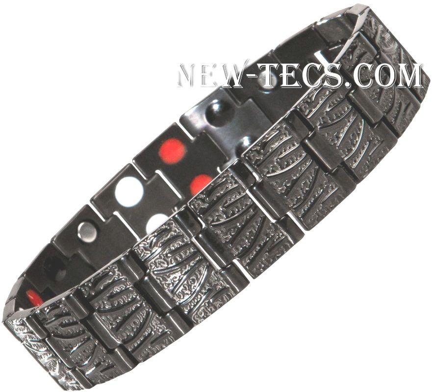 Титановый магнитный браслет TY116DNT-Mj-titanium