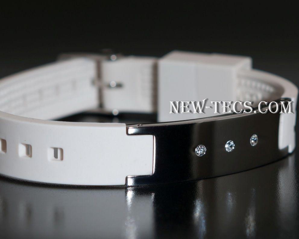 Спортивный браслет Power Band white