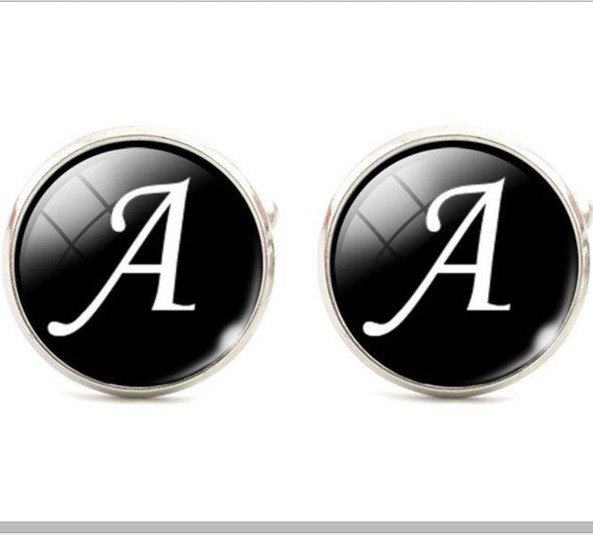 Запонки буква А
