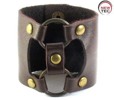 Кожаный браслет NewTec-16