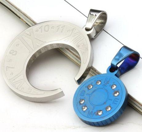 Парный кулон с цепочками