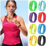 Спортивные светодиодные часы-браслет