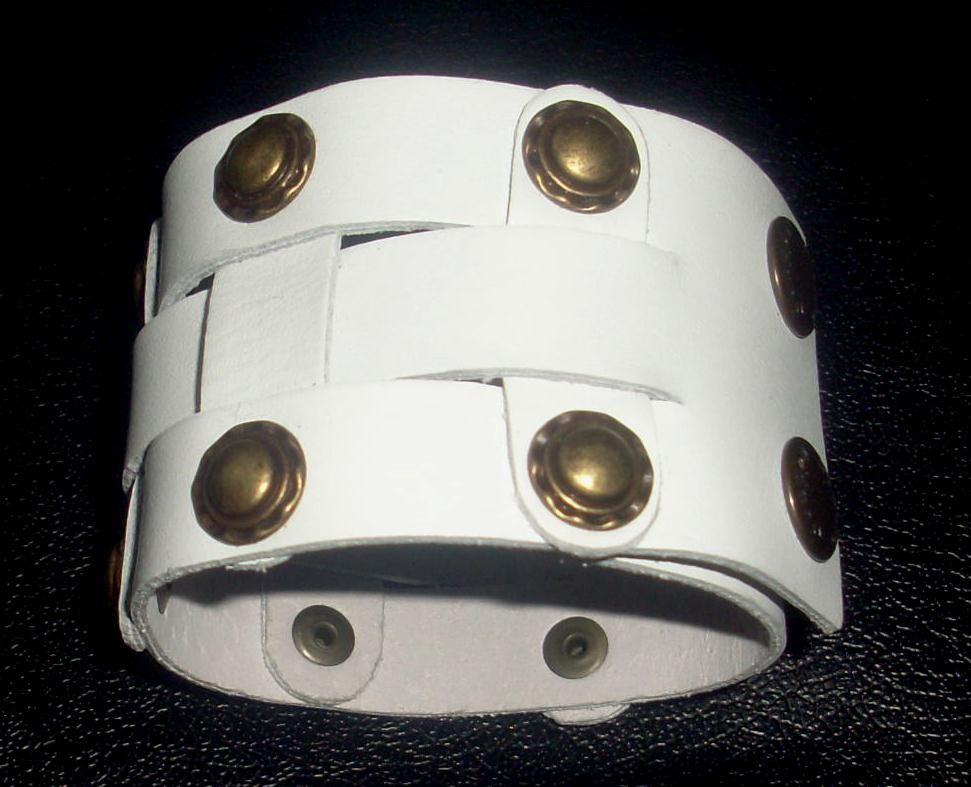 Кожаный браслет NewTec-23