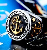 Перстень с якорем