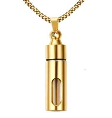 Кулон-контейнер (gold)